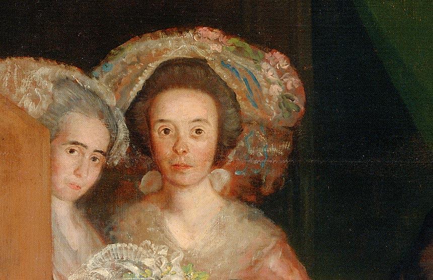 Francisco-de-Goya-y-Lucientes,-La-famiglia-dell'infante-don-Luis,-1783-84,-olio-su-tela