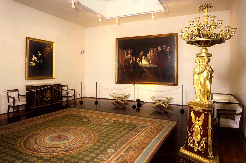 La Villa dei Capolavori - Sala del Goya. (Fotografia Giovanni Amoretti)