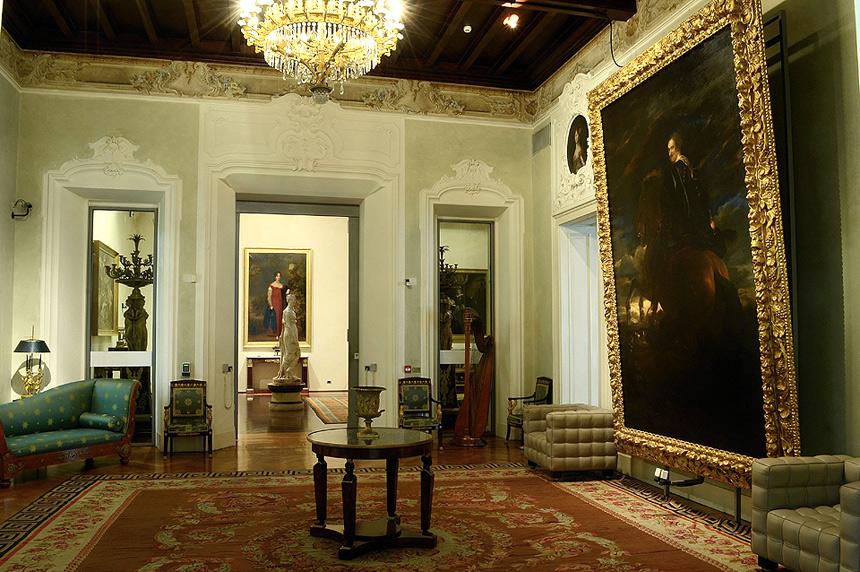 Sala del Van Dyck , foto: Amoretti