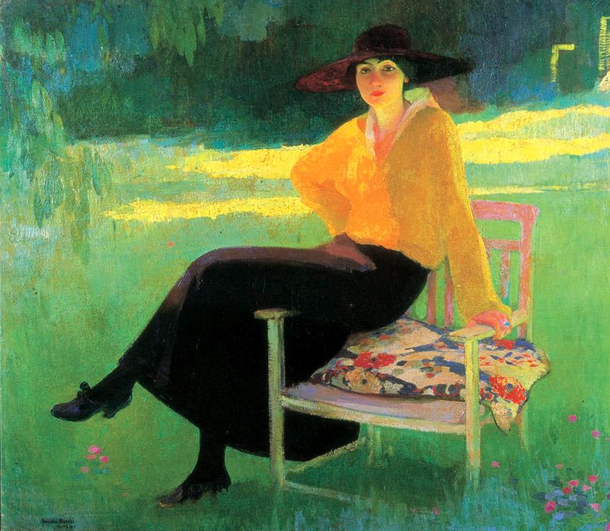 Amedeo Bocchi - Nel parco, 1919