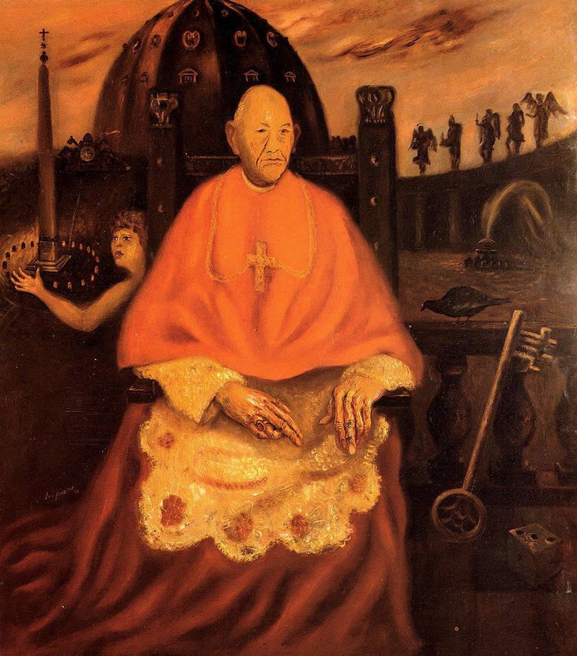 Scipione, Il Cardinal decano, 1930 Galleria d'Arte Moderna © Roma Capitale/fotografia di Alessandro Vasari