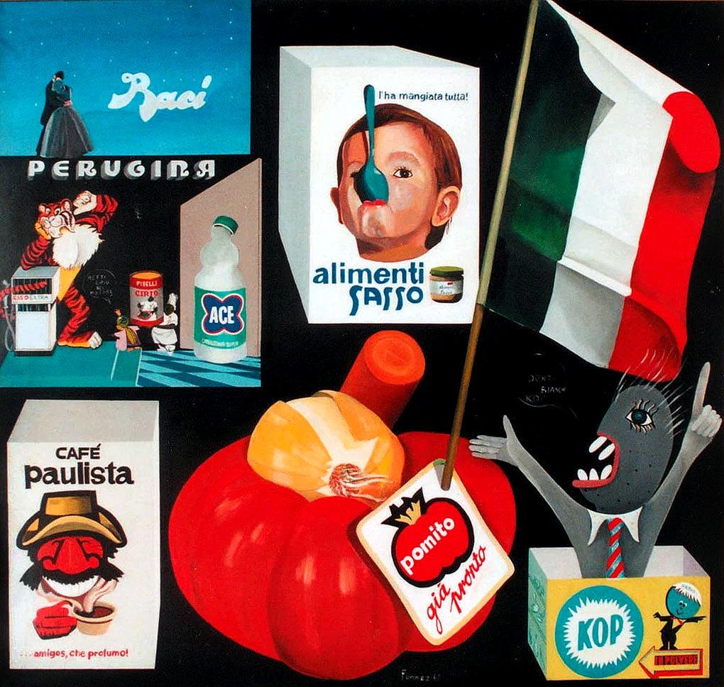 Antonio Fomez, Invito al consumo, 1964-1965