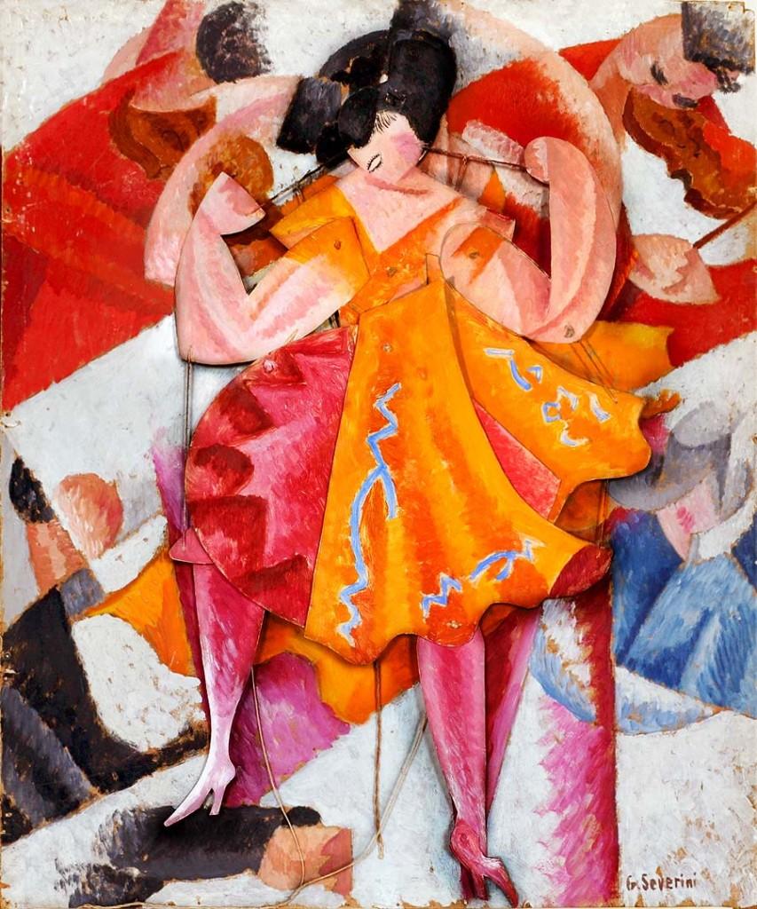 Danseuse articulee, Gino Severini